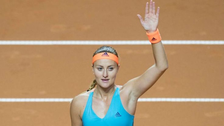 """4/29/17 """"I just tried to fight and in the end it paid off"""" - Kristina Mladenovic reaches her third Final of 2017. via WTA... Sharapova, a controversial wildcard entry, was playing her first tournament following a 15-month doping ban after a positive test for Meldonium at the 2016 Australian Open, with the original two-year ban reduced."""