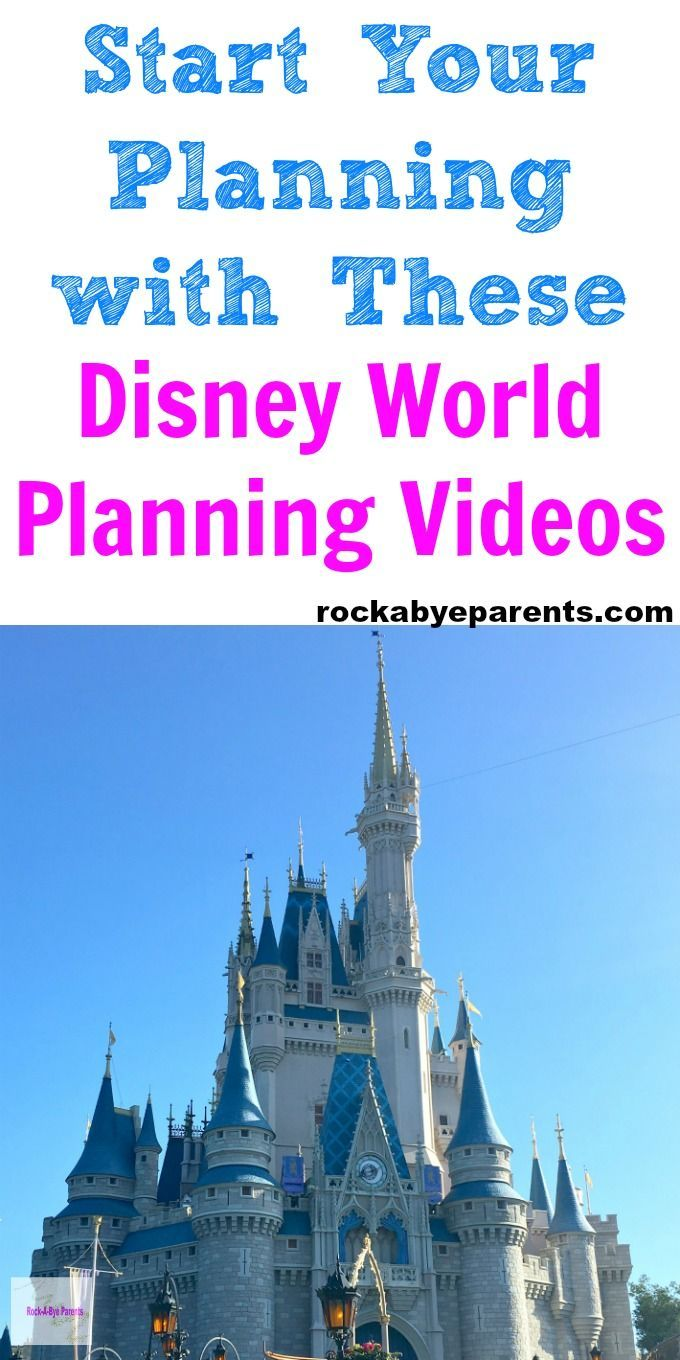 On the hunt for Disney World planning tips to help plan your upcoming vacation? There are a lot of great Disney vacation tips out there, but you can't beat getting planning information from Disney itself! That's exactly what you'll get with these amazing Disney World planning videos that they have put together to help you. Click through to find out how to get access to these free videos! Via Rock-A-Bye Parents #waltdisneyworld #disneyplanningvideos #familytravel