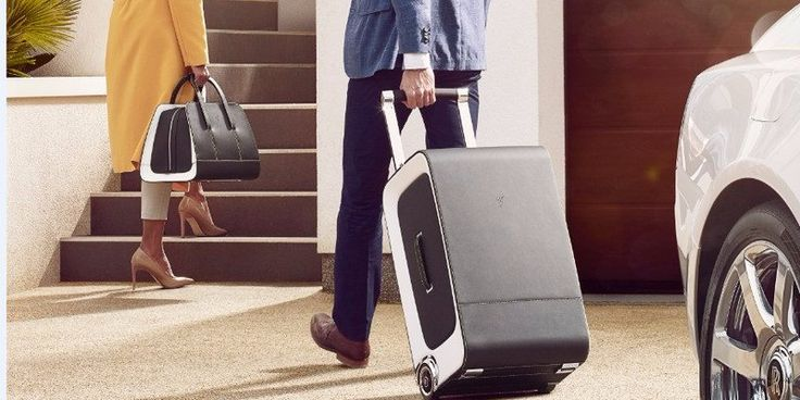 Rolls-Royce designed a new set of luggage that costs more than an entry-level luxury car #leathergoods