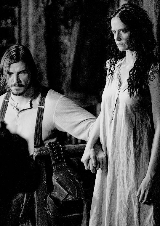 "Penny Dreadful | Season 2 | Josh Hartnett as Ethan Chandler & Eva Green as Vanessa Ives  in 2x09 ""And Hell itself my only foe"""