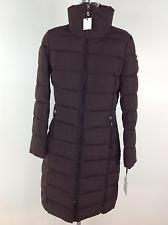 Calvin Klein Nuevo Wt Para Mujer Marrón Invierno Chaqueta Larga -10 grados cálido