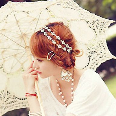Fashion Alloy Headbands With Imitation Pearl For Women(1 Pc)