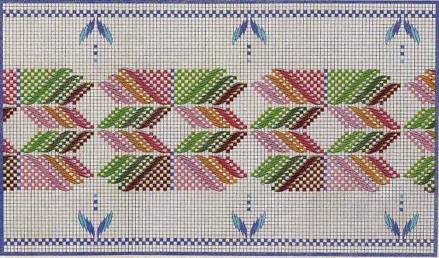 Punto Yugoslavo / Vagonite pattern by Más que Bolillos