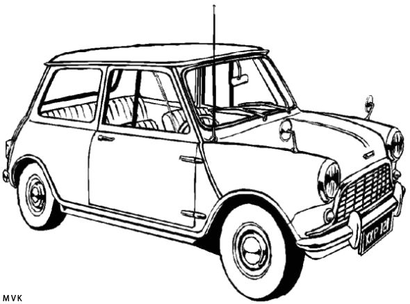 mini cooper panel coloring pages - photo#18