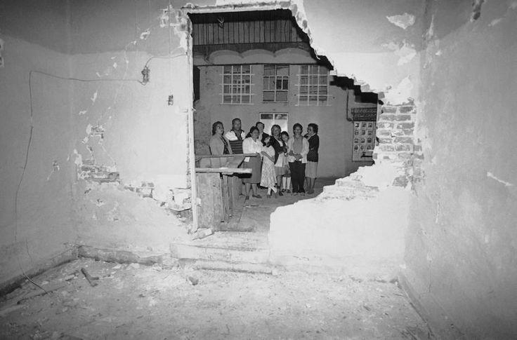 Foto: AP- TERREMOTO DE 1985