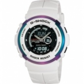 Casio G Shock White Exhaust Youth Culture Watch