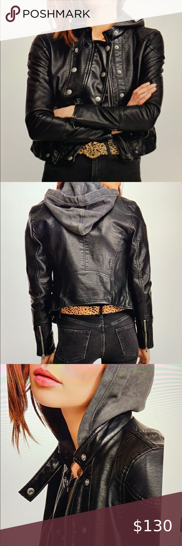NWT We the Free New Dawn Faux Leather Jacket in 2020 ...