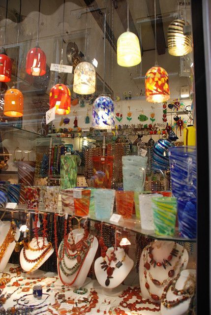 Loved every shop I went in ---Art of Glass - Murano, Italy