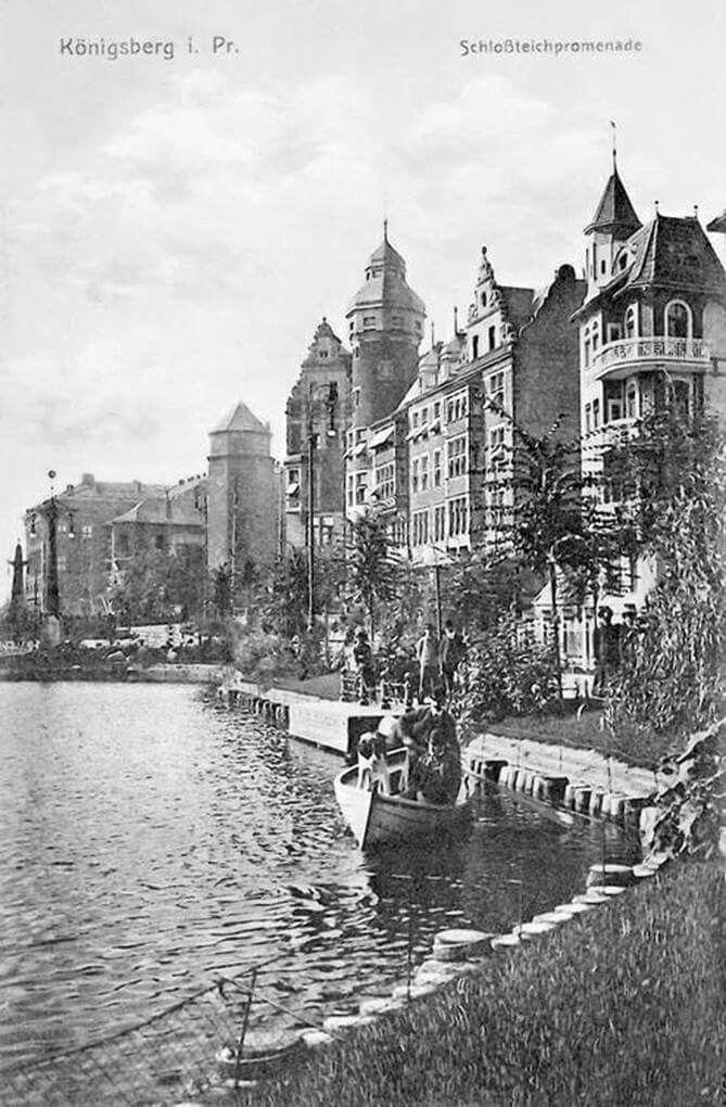 Königsberg Pr. Schloßteichpromenade