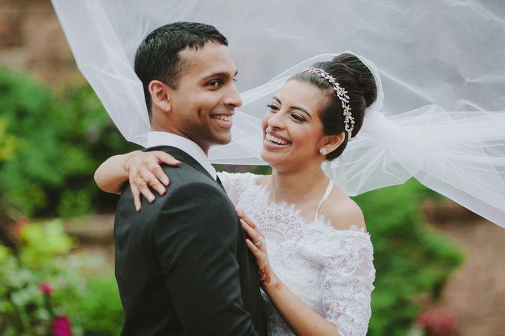 Priya and Justin Indian wedding - bridal portrait - Part 2