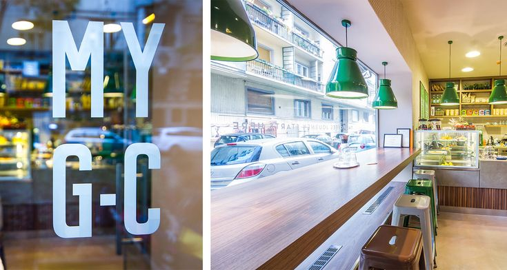 MY G-C - My Green Cup  #coffeeshop #green #cafedesign #contract #furniture #design