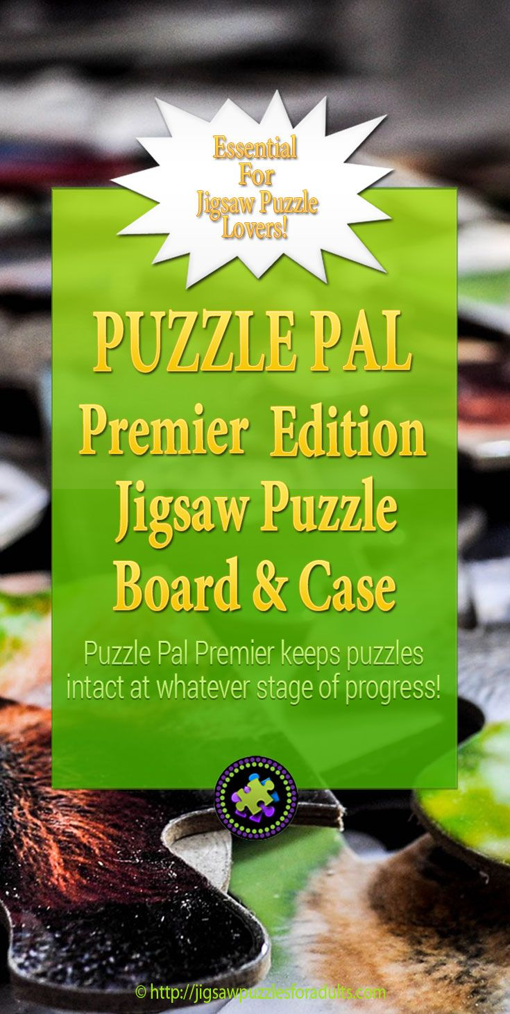 Puzzle Pal Premier Edition is an essential for Jigsaw Puzzle lovers! It's a jigsaw puzzle carrying, storage, board and case all in one! Perfect for the avid puzzler on the GO!