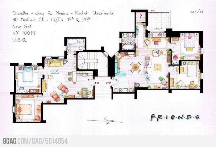F.R.I.E.N.D.S apartments :)