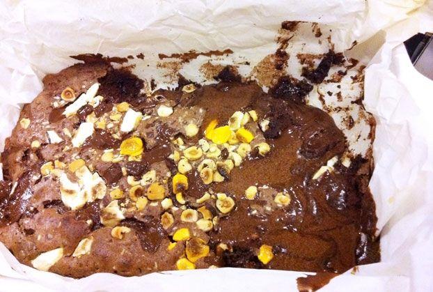 Κέικ σουφλέ σοκολάτας
