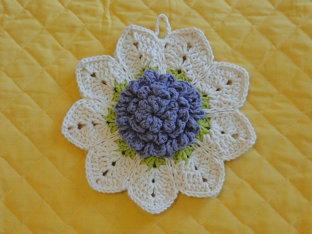 FLOR DE CROCHÊ RECEITA GRATUITA (crochet link to free pattern)