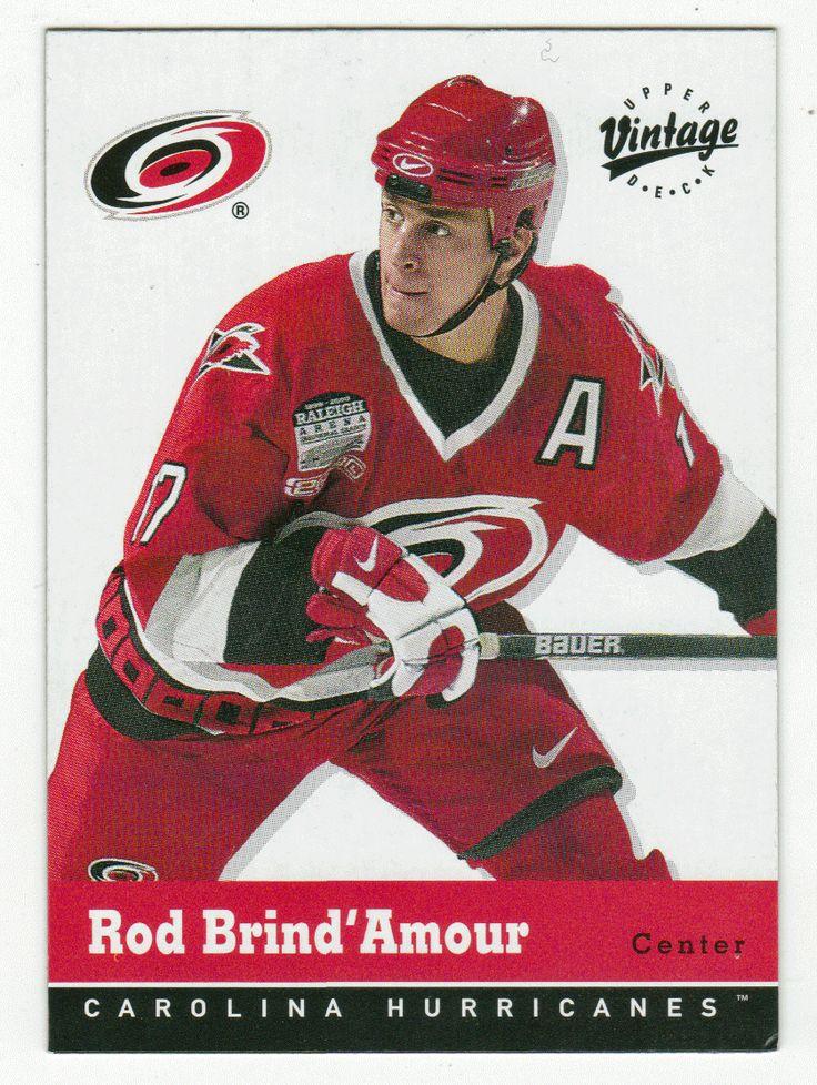 Rod Brind'Amour # 71 - 2000-01 Upper Deck Vintage Hockey