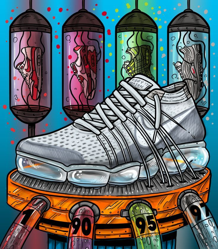 "Nike VAPORMAX 17"" Sneaker Art Air Max By KodyMason"