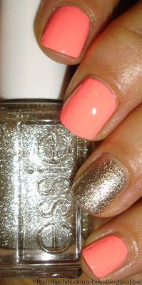 Flip Flop Fantasy by China Glaze and Beyond Cozy by Essie