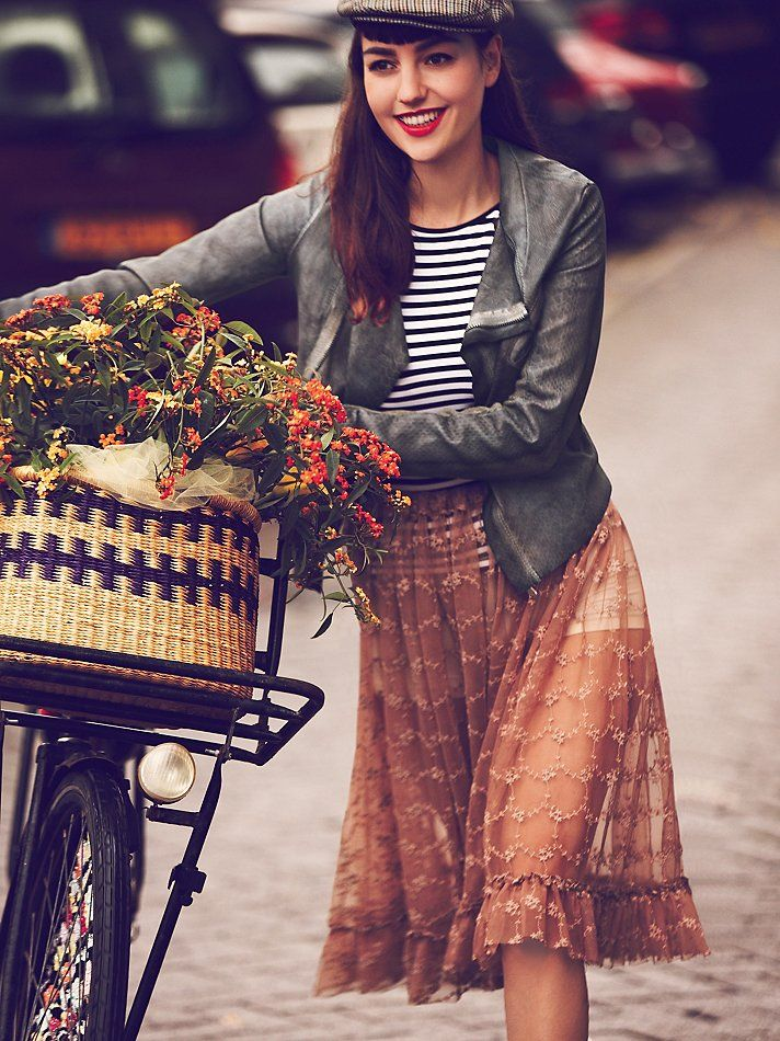 Free People Girls on Bikes: The Complete January 2013 Catalog