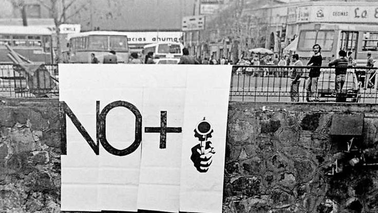 "Lotty Rosenfeld ""No +"" C.A.D.A (1983)"
