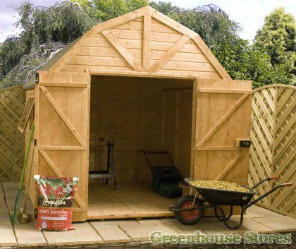 cotswold 8x8 premium dutch barn shed