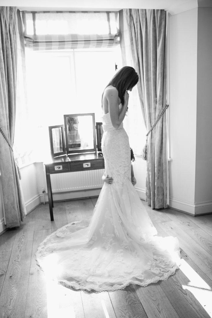 The Wedding Dress #thehitchcockwedding #vintage #lace