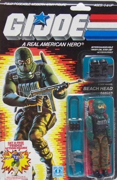G.I. Joe - Beach Head--one of my favs growing up