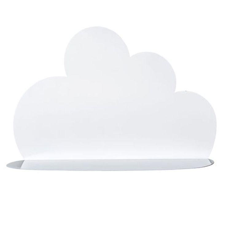 Etagère nuage en métal blanc Bloomingville - GM