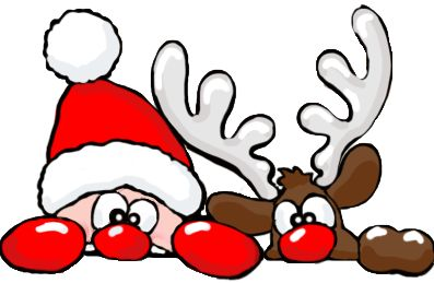 png Papa Noel y Reno -- puponelandia.com