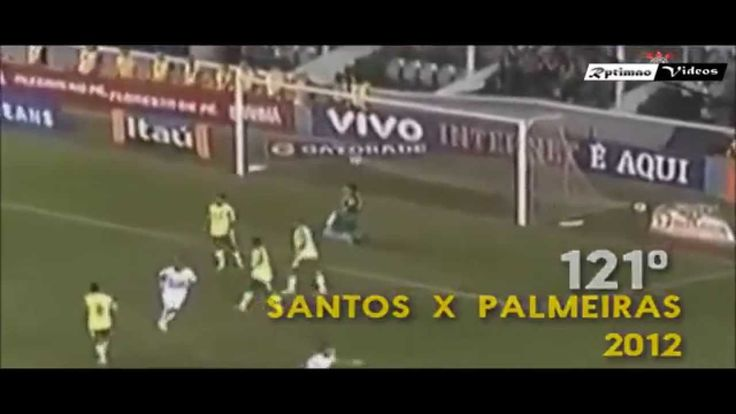 All Goals Neymar Jr in Santos Fc   2009 - 2013