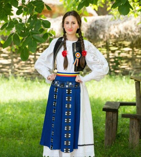 Romanian traditional costume-Ardeal, Romania #folclor #traditional www.haisitu.ro