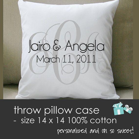 THROW Pillow Size 14 X 14