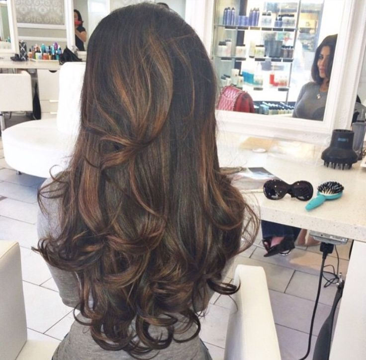 The perfect bouncy blow dry