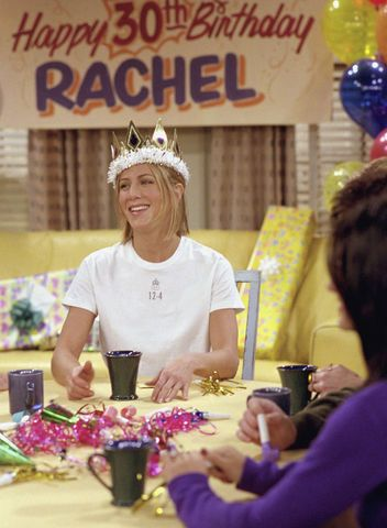 """Turning 30 Isn't as Scary as the Friends Episode """"The One Where They All Turn Thirty"""" Makes It Out to Be: Glamour.com"""