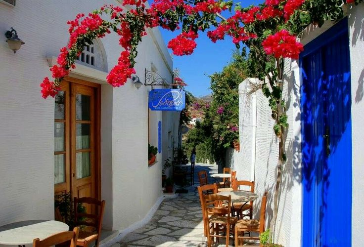 Alley in Tinos