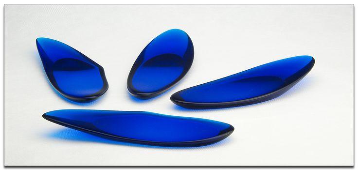 utensil rests in resin by gilmour - image bob gilmour / gilmour artforms - #resin #kitchen #decor #homewares