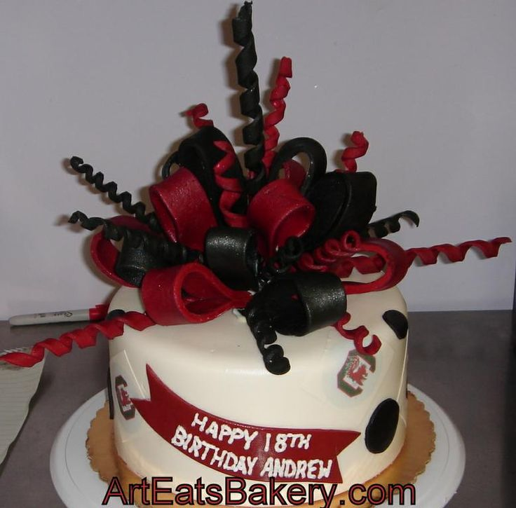 Gamecock Birthday Cake