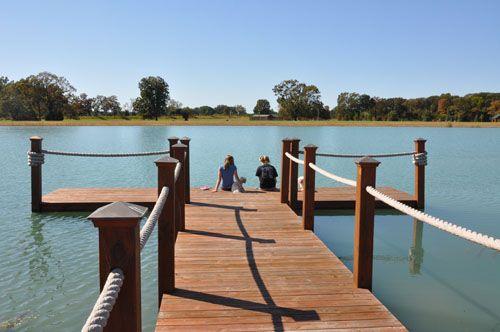 lake dock idea - simple