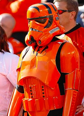 Cincinnati Bengals and Star Wars Mashup helmet
