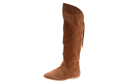STYLE TREAD Urge Harmony Tan suede boots, $189.95