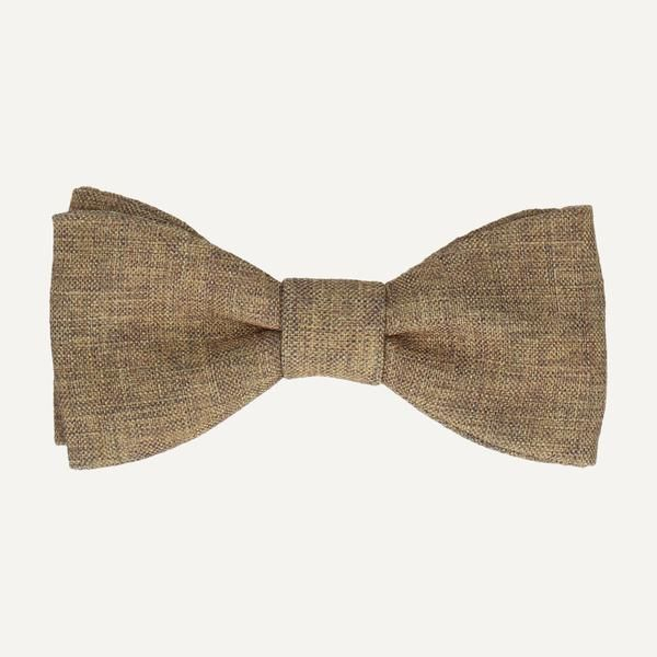 Wool Self tie bow tie - Dark brown with tailored stiches in off-white - Notch JEDD Notch Buy Cheap Many Kinds Of Footlocker Pictures Online Wide Range Of For Sale Discount Cheap ZjZ4VrEM