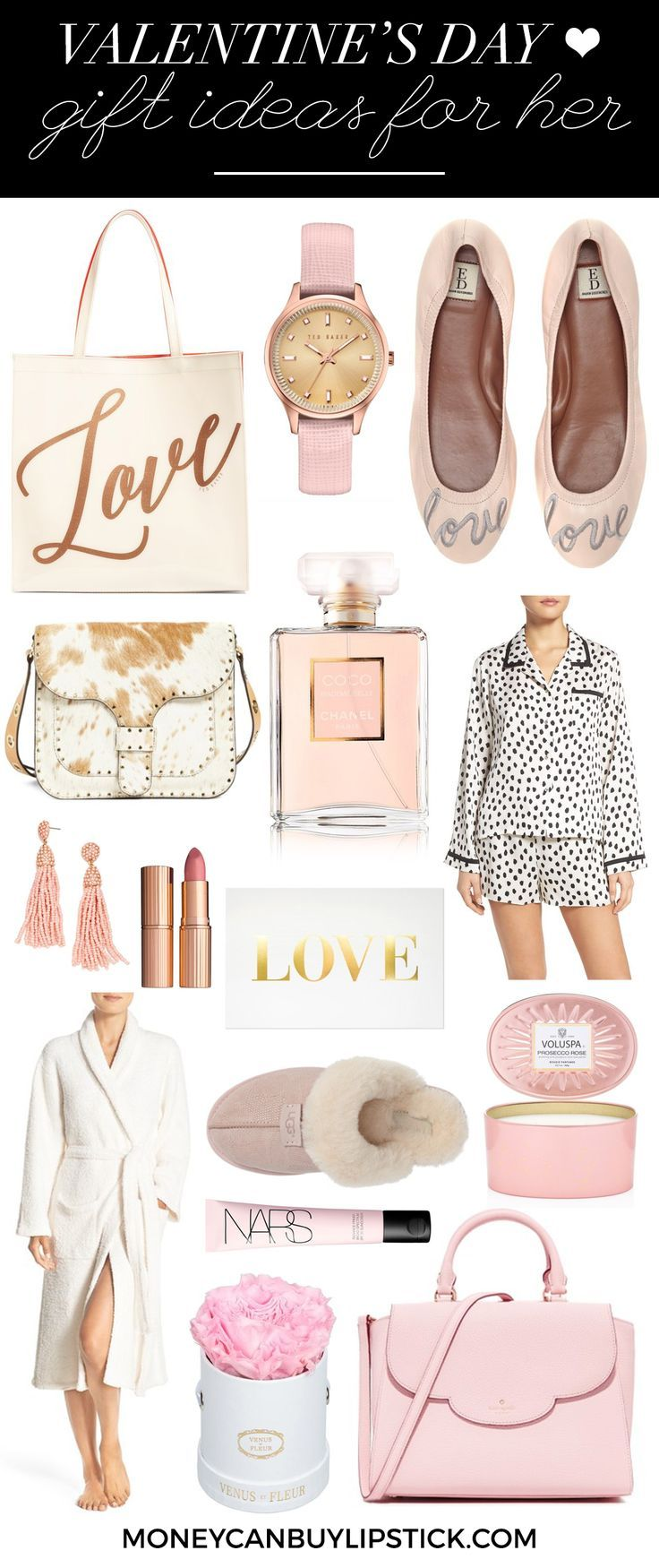 Valentine's Day | Gifts For Her | Valentine's Day Gifts For Her | Galentines Day | Gift Ideas | Gift Ideas For Her | Pink Gift Ideas | Luxury Gifts | Pretty Gifts | VDay | Valentine