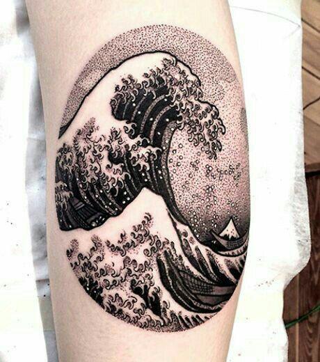 #Hokusai #Tattoo