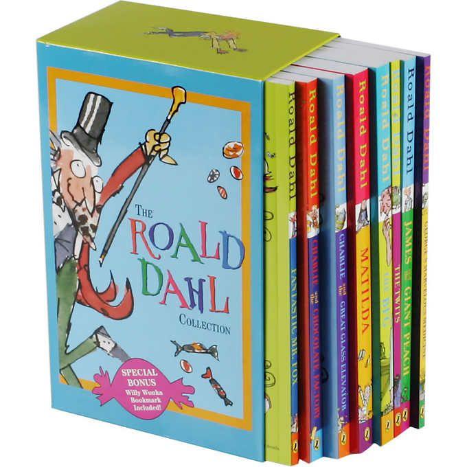 The Roald Dahl Collection: 8 Book Box Set