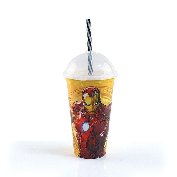 Copo Shake Iron Man