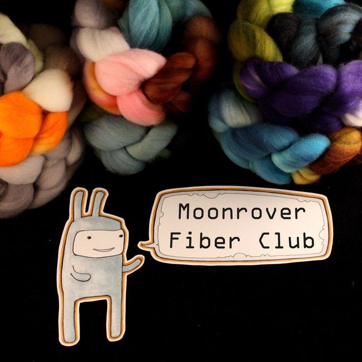 Image of Moonrover Superwash Fiber Club -- 3 Months