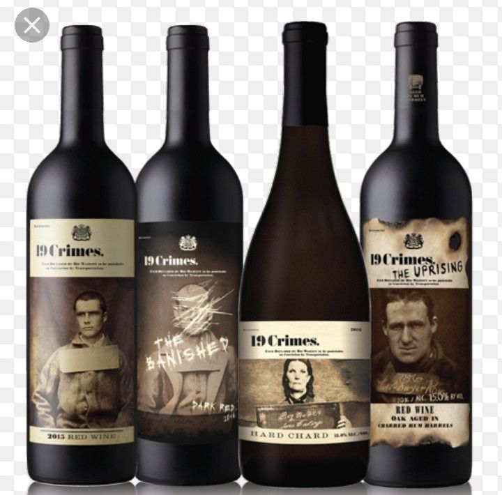 Pin by Spo0n Ink on serial killers 19 crimes wine, Wine
