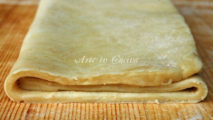 Come fare la pasta sfoglia in 5 minuti | Arte in Cucina