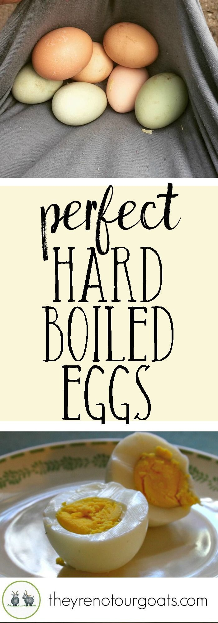 How to finally get the perfect hard boiled egg, every time.
