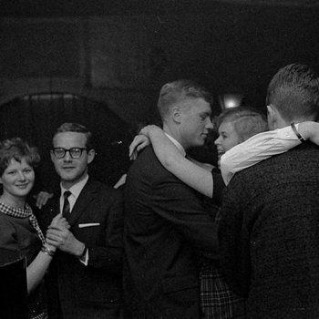 1960's. Dancing at Jazzclub Sheherazade in the Wagenstraat in Amsterdam. #amsterdam #1960 #Sheherazade